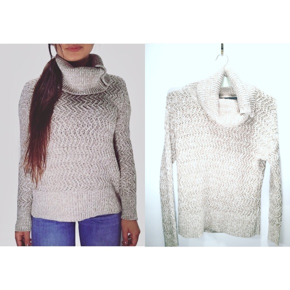 Banana Republic Sweaters | Knit Cowl Neck Sweater | Poshmark